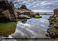 Klippen und Meer. Fantastische Ausblicke auf den Inseln im Ärmelkanal (Wandkalender 2019 DIN A2 quer) - Produktdetailbild 5