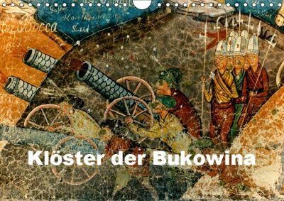 Klöster der Bukowina (Wandkalender 2019 DIN A4 quer), Joern Stegen