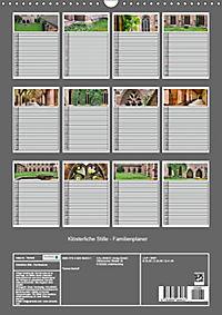 Klösterliche Stille - Familienplaner (Wandkalender 2019 DIN A3 hoch) - Produktdetailbild 13