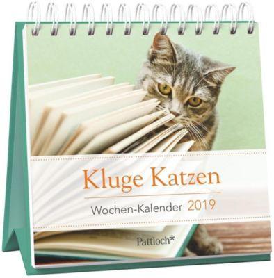Kluge Katzen - Mini-Kalender 2019