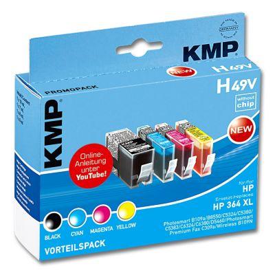 kmp druckerpatronen multipack ausf hrung hp deskjet h49v. Black Bedroom Furniture Sets. Home Design Ideas