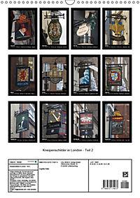 Kneipenschilder in London - Teil 2 (Wandkalender 2019 DIN A3 hoch) - Produktdetailbild 13