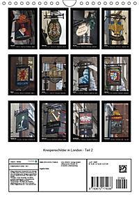 Kneipenschilder in London - Teil 2 (Wandkalender 2019 DIN A4 hoch) - Produktdetailbild 13
