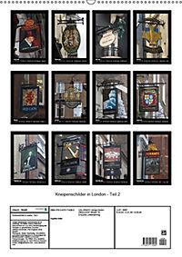Kneipenschilder in London - Teil 2 (Wandkalender 2019 DIN A2 hoch) - Produktdetailbild 13
