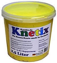 Knetix - 2,5 Liter (Farbe: Gelb) - Produktdetailbild 1