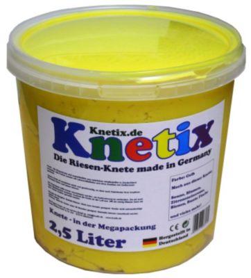 Knetix - 2,5 Liter (Farbe: Gelb)