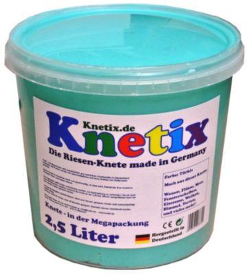 Knetix - 2,5 Liter (Farbe: Türkis)