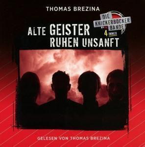 Knickerbocker4immer - Alte Geister ruhen unsanft, 8 Audio-CD, Thomas Brezina