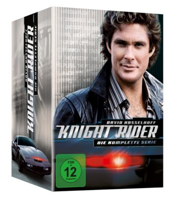 Knight Rider - Die komplette Serie, Edward Mulhare,Patricia McPherson David Hasselhoff