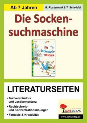 Knister 'Die Socken-Suchmaschine', Literaturseiten, Gabriela Rosenwald, Tim Schrödel