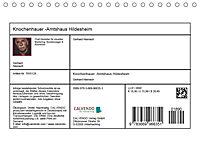 Knochenhauer-Amtshaus Hildesheim (Tischkalender 2019 DIN A5 quer) - Produktdetailbild 13