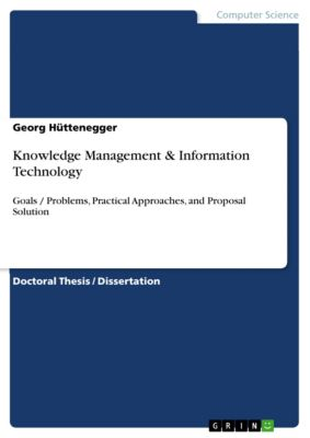 Knowledge Management & Information Technology, Georg Hüttenegger