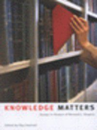 Knowledge Matters, Paul Axelrod