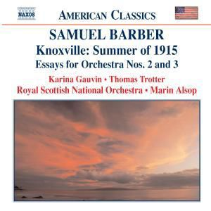 Knoxville:Summer Of 1915/Essay, Alsop, Gauvin, Trotter, Rsno