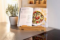 Kochbuch- und Tablethalter aus Bambus - Produktdetailbild 1
