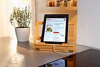 Kochbuch- und Tablethalter aus Bambus - Produktdetailbild 2