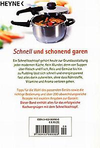Kochen im Schnellkochtopf - Produktdetailbild 2