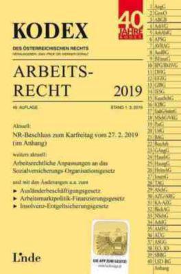 KODEX Arbeitsrecht 2019 (f. Österreich) -  pdf epub