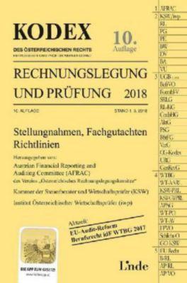 KODEX Rechnungslegung und Prüfung 2018, Werner Gedlicka, Markus Knotek, Katharina Bakel-Auer