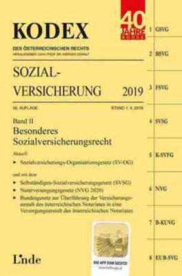 KODEX Sozialversicherung 2019, Band II - Elisabeth Brameshuber pdf epub