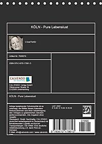 KÖLN - Pure Lebenslust (Tischkalender 2019 DIN A5 hoch) - Produktdetailbild 13