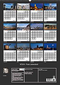 KÖLN - Pure Lebenslust (Wandkalender 2019 DIN A2 hoch) - Produktdetailbild 13
