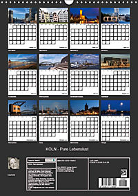 KÖLN - Pure Lebenslust (Wandkalender 2019 DIN A3 hoch) - Produktdetailbild 13