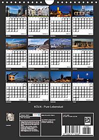KÖLN - Pure Lebenslust (Wandkalender 2019 DIN A4 hoch) - Produktdetailbild 13