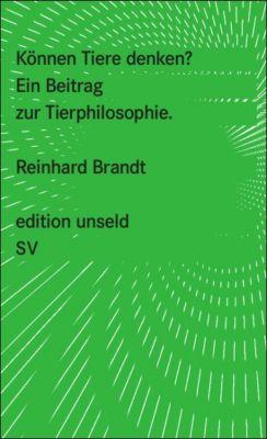 Können Tiere denken?, Reinhard Brandt