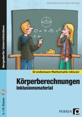 Körperberechnungen - Inklusionsmaterial, m. CD-ROM, Cathrin Spellner, Marco Bettner, Erik Dinges