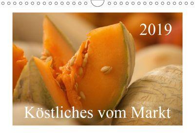 Köstliches vom Markt (Wandkalender 2019 DIN A4 quer), Astrid Pustolla