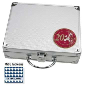 Koffer für 20 -Münzen