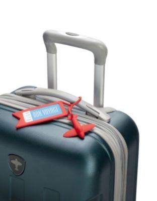 Kofferanhänger Tag Me red