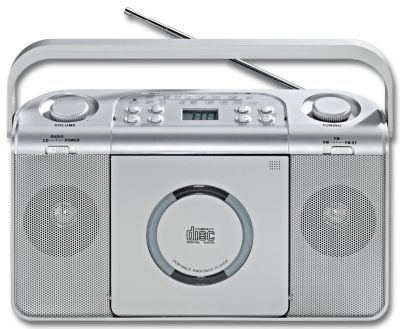 Kofferradio mit CD