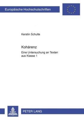 Kohärenz - Kerstin Schulte |