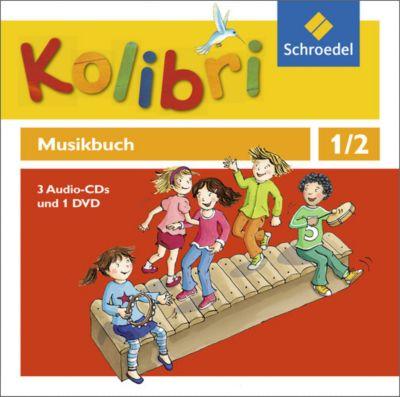 Kolibri - Musikbuch 1 / 2. Hörbeispiele und Tanz-DVD. Allgemeine Ausgabe