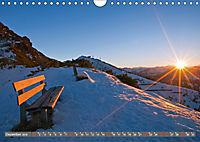 Komm setz dich zu mir auf's Bankerl! (Wandkalender 2019 DIN A4 quer) - Produktdetailbild 12