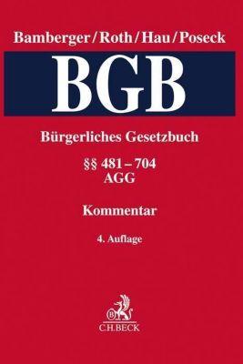 Kommentar zum Bürgerlichen Gesetzbuch (BGB): Bd.2481-704, AGG