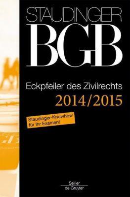 Kommentar zum Bürgerlichen Gesetzbuch (BGB) mit Einführungsgesetz und Nebengesetzen: Eckpfeiler des Zivilrechts 2014/2015