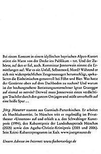 Kommissar Jennerwein Band 1: Föhnlage - Produktdetailbild 2