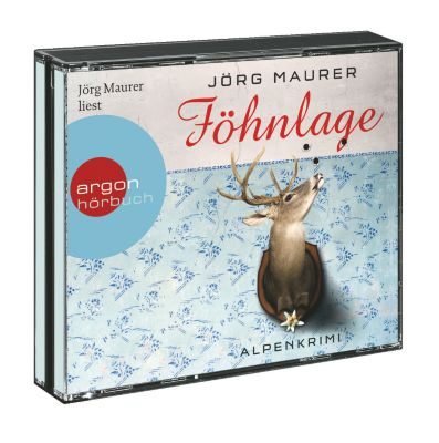 Kommissar Jennerwein Band 1: Föhnlage (4 Audio-CDs) - Jörg Maurer |