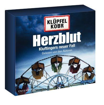 Kommissar Kluftinger Band 7: Herzblut (10 Audio-CDs), Volker Klüpfel, Michael Kobr