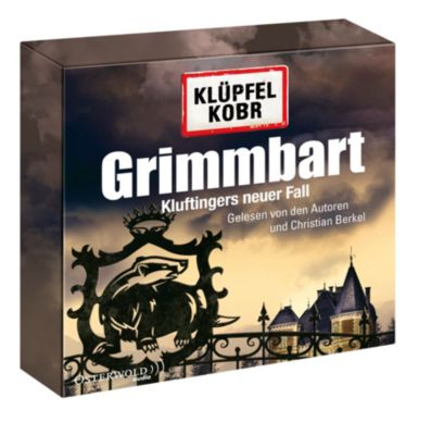 Kommissar Kluftinger Band 8: Grimmbart (12 Audio-CDs), Volker Klüpfel, Michael Kobr