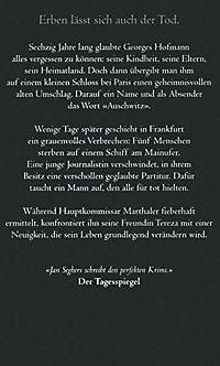 Kommissar Marthaler Band 3: Partitur des Todes - Produktdetailbild 1