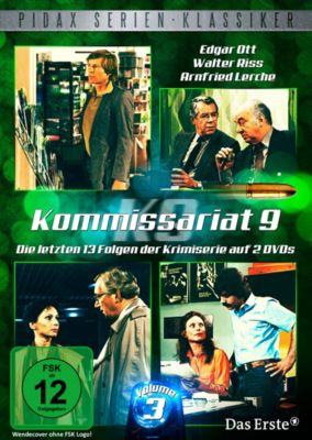 Kommissariat 9 - Vol. 3, Rolf Schulz, Horst Otto Oskar Bosetzky, Joachim Nottke, Uwe Otto