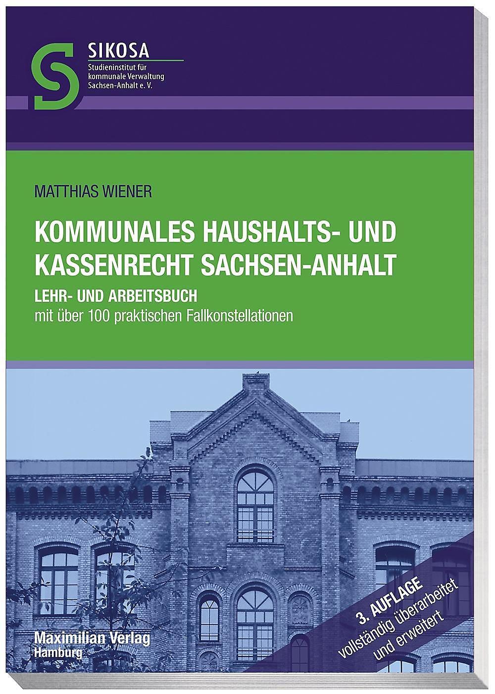 Kommunales Haushalts Und Kassenrecht Sachsen Anhalt Buch