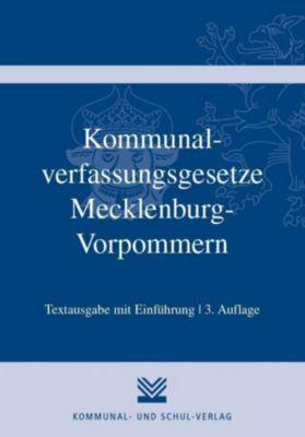 Kommunalverfassungsgesetze Mecklenburg-Vorpommern -  pdf epub