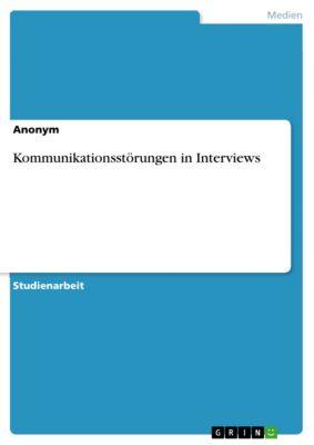 Kommunikationsstörungen in Interviews