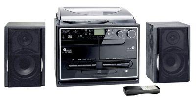 Kompaktanlage mit Plattenspieler