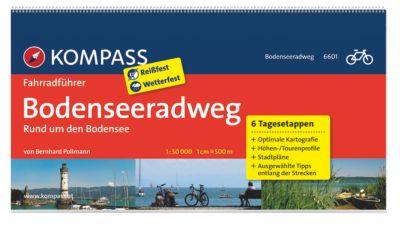 Kompass - Fahrradführer  (Ausgabe: Bodenseeradweg), Bernhard Pollmann